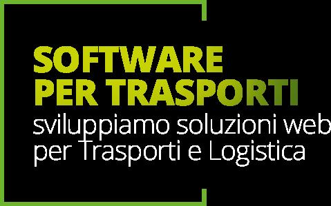 Sviluppo software web per i trasporti e la logistica